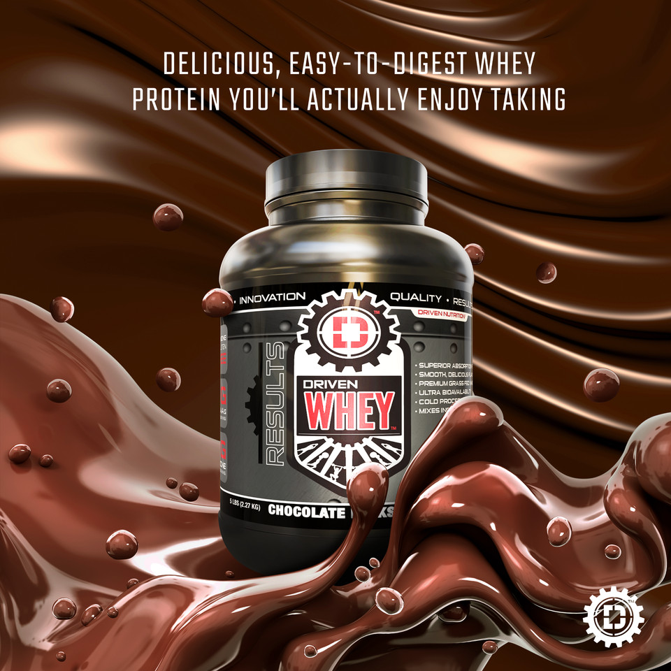 Why I Use Drive Nutrition Whey Protein